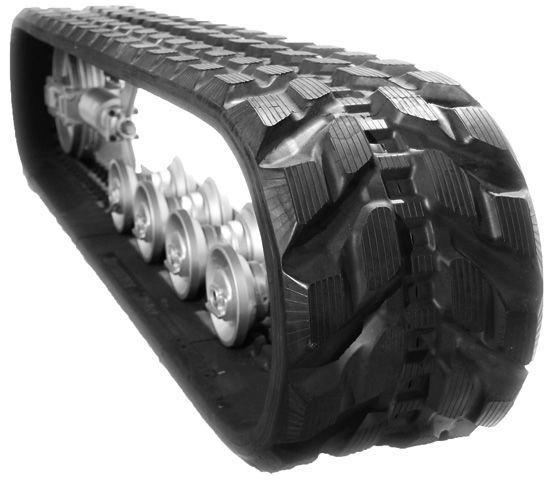 Обзор гусениц для экскаваторов. Резиновая и металлическая